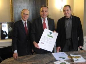 La mairie du 2ème arrondissement de Lyon signe la charte de l'arbre