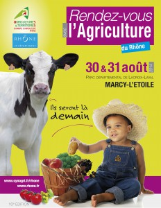 10ème édition des rendez-vous de l'agriculture les 30 et 31 Août 2014
