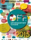 3ième édition du « Off » du Développement Durable le 31 mars prochain à Lyon