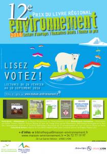 Prix régional du livre environnement : votez !