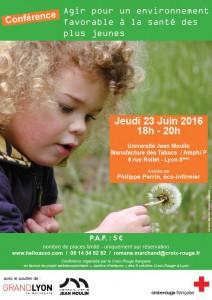 Conférence « Agir pour un environnement favorable à la santé des plus jeunes »