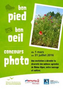 Concours Photos « Bon Pied, Bon Œil », montrer une agriculture respectueuse de la nature.