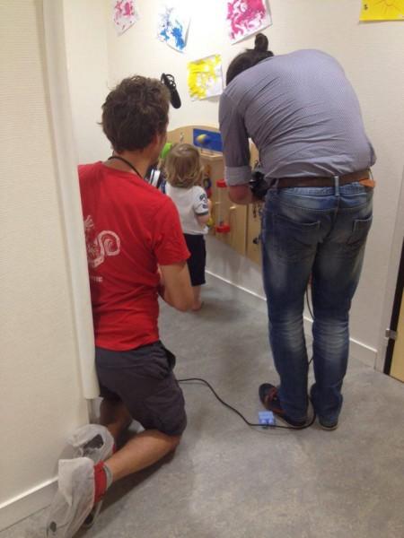 Projet web-documentaire « Jardins d'enfance » des 9 crèches Croix-Rouge de Lyon : Le tournage a démarré !