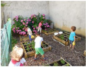 Avec l'association des centres sociaux d'Oullins, les habitants ont la main verte !