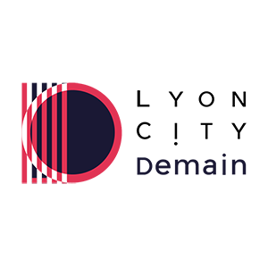 Lyon city demain logo
