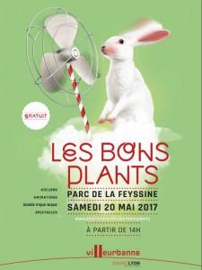 Les Bons Plants, samedi 20 mai 2017 à la Feyssine