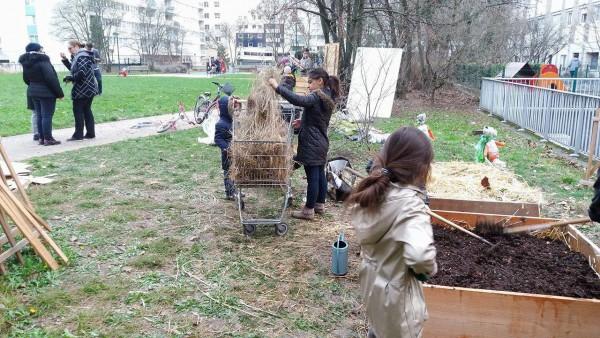 Après-midi convivial au Tonkin et co-construction du jardin partagé, 12 février 2017