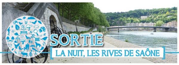 La nuit, les Rives de Saône…