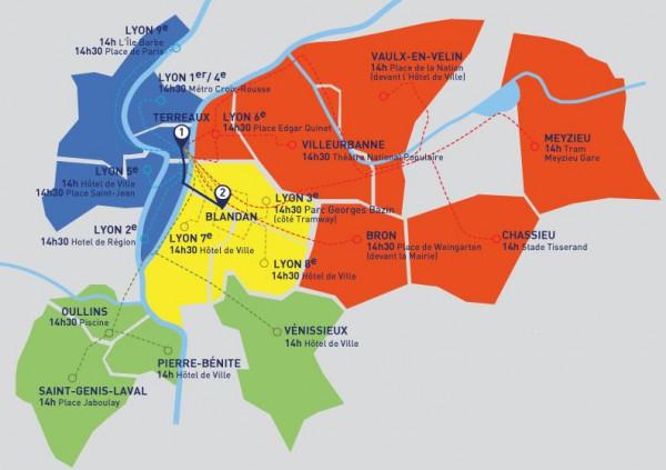 Convergence carte couleur