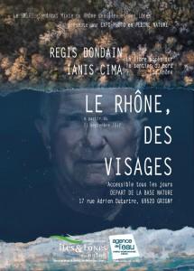Une expo-photo en pleine nature : Le Rhône des Visages