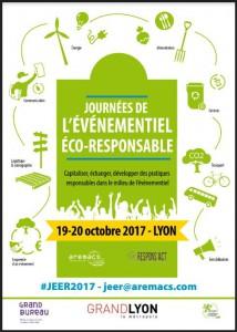 Participez aux Journées de l'Evénementiel Eco-Responsable les 19 et 20 octobre prochains !