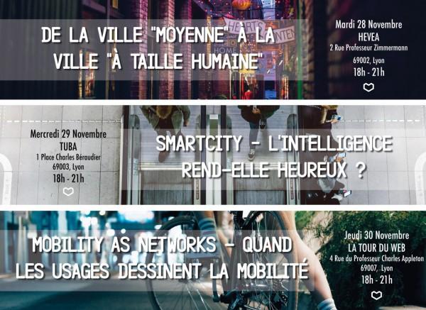Trilogie Soirées OuiShare - Ville