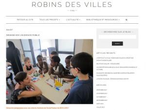 Dessine-moi une aire de jeu pour le Quartier – Ecole Pasteur – Mermoz, Lyon 8e