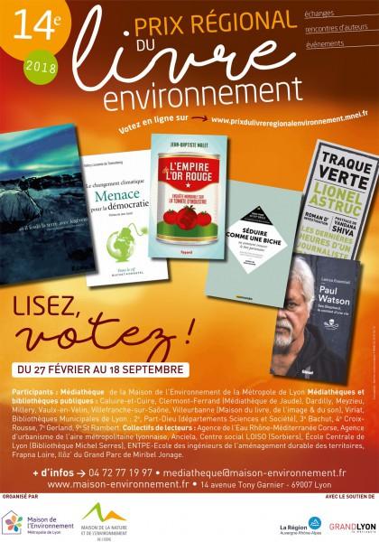Prix régional livre environnement