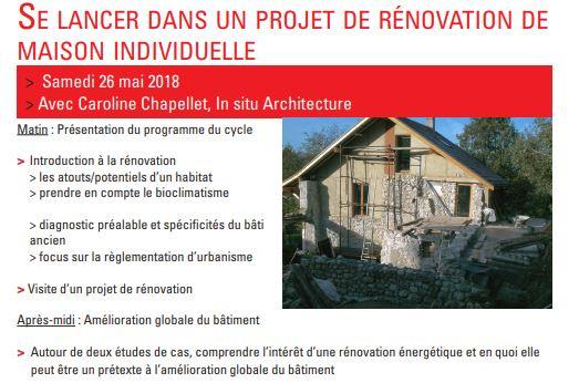 Vous habitez une commune de la Métropole de Lyon, et vous avez un projet de rénovation écologique pour votre maison ?
