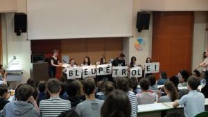 Connaissez-vous la BD Bleu Pétrole, lauréat du Prix Collégien du livre environnement 2017-2018 ?