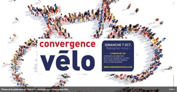 Rejoignez l'un des 25 départs de la convergence Vélo, le dimanche 7 octobre