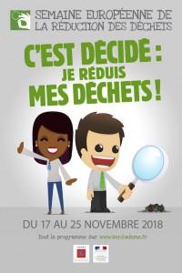 Semaine européenne de la réduction des déchets 2018 –  L'école primaire Aimé Césaire de Lyon mobilisée !