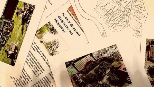 Découvrez le projet «Ma ville comme je la vois aujourd'hui et demain » mené au Collège Paul Eluard de Vénissieux