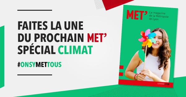 Faites la une du prochain MET' spécial climat !
