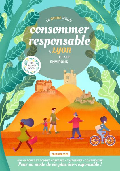 L'association The Greener Good sort son Guide pour consommer responsable à Lyon et ses environs