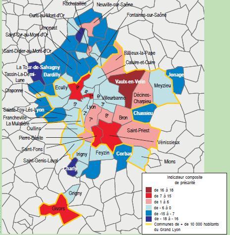 Précarité sur le Grand Lyon: l'analyse de l'INSEE « Plan Climat