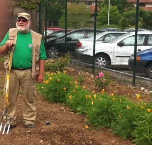 Alain, jardinier à Langlet Santy