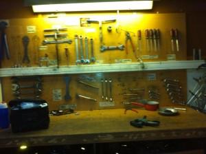 les outils à disposition