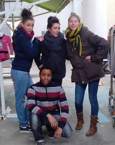 L'équipe 2014 des volontaires d'Unis-Cité explore cette année le quartier des Etats-Unis, Lyon 8.