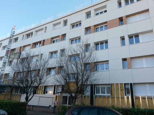 Nouvelle façade isolée, côté rue