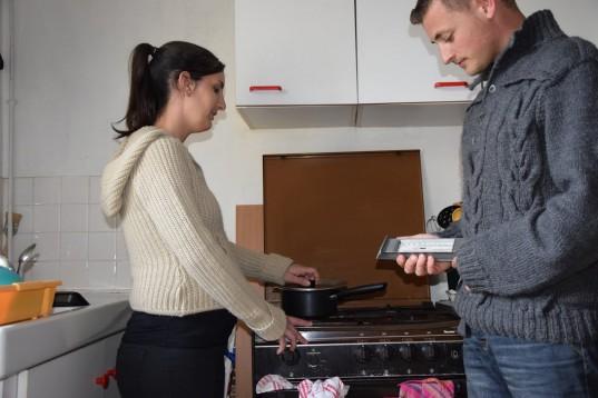 Arnaud et Elise, jeune couple de Pierre-Bénite