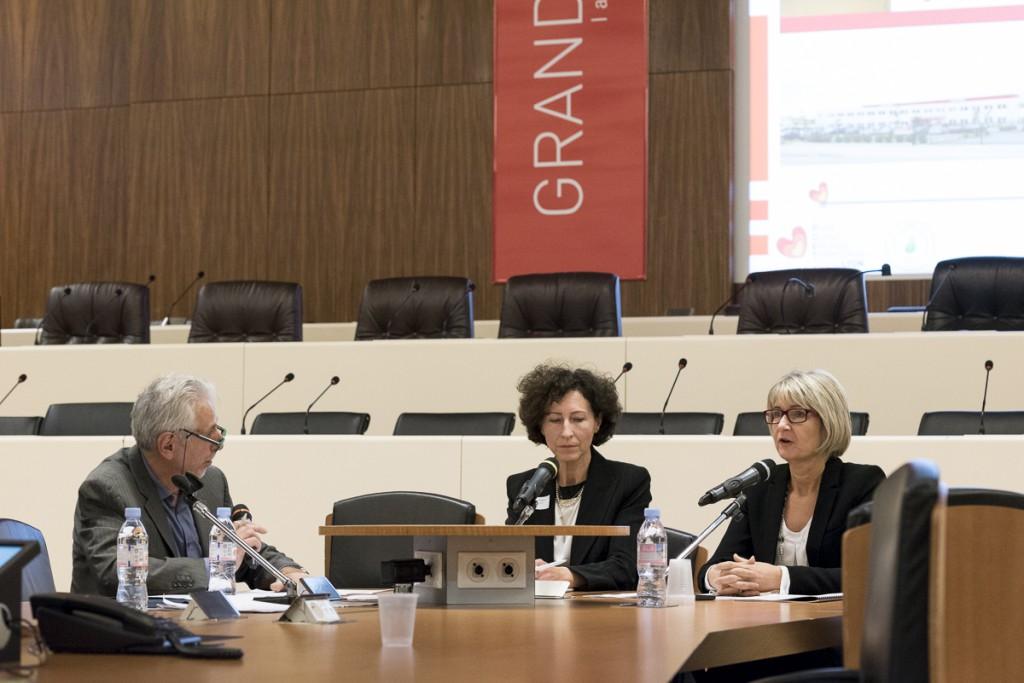 Marie-France Raty, présidente du groupe Maviflex (photo Thierry Fournier, Grand Lyon)