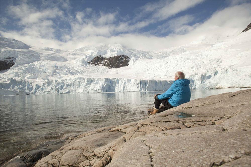 """""""La glace et le ciel"""", film de Luc Jacquet sorti en octobre 2015."""