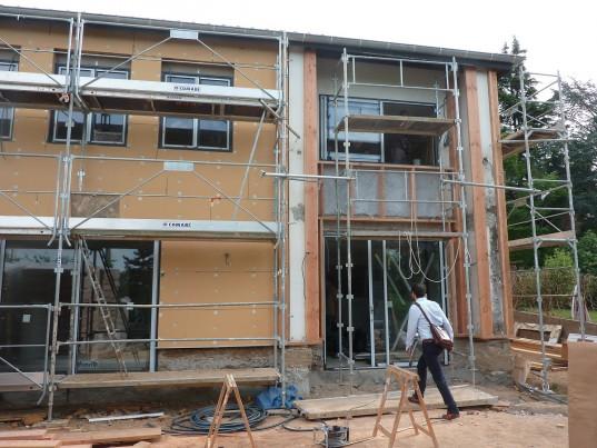 La maison a été éco-rénovée en quatre mois