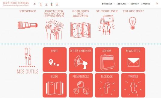 Le site Agir à Lyon permet de recenser l'ensemble des actions solidaires disponibles sur Lyon et son agglomération