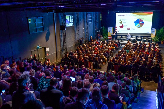 Salle comble pour la 6ème Conférence Énergie Climat  - © Eric Soudan